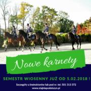 karnety wiosna 2018
